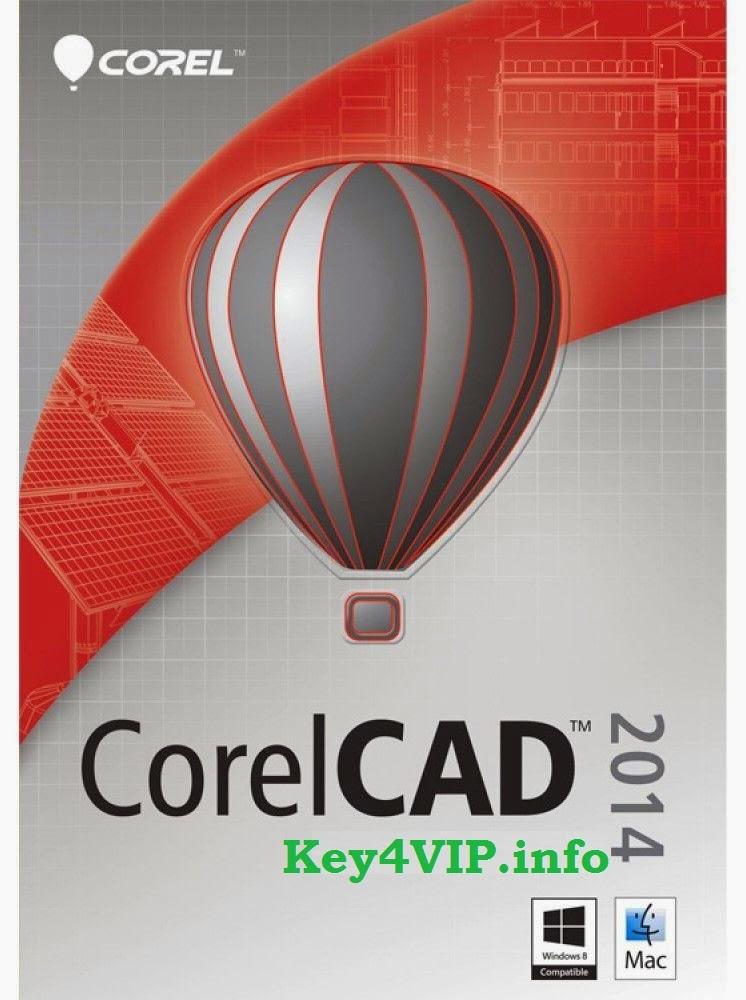 Corel Corporation CorelCAD 2014 v2014.5 (32-64-Bit) Full Key,Phần mềm thiết kế mô hình kỹ thuật 2D và 3D