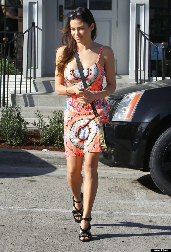 Jenna Dewan's Colorful Minidress Has Us Thinking Of Summer