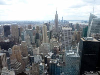 Desde lo alto de Rockefeller center