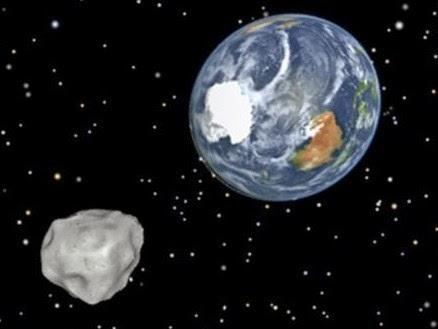 Tabrakan Antara Asteroid dan Bumi