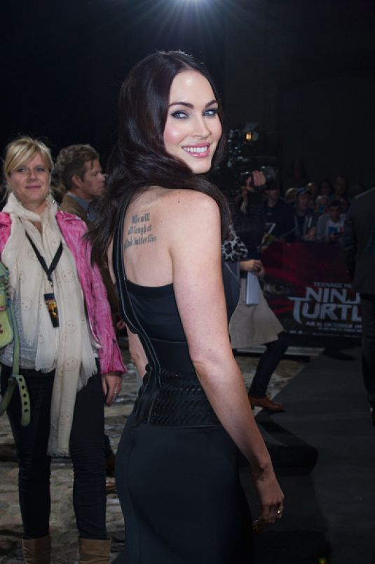 Megan Fox at Teenage Mutant Ninja Turtle Berlin Premiere