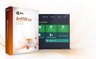 Software : AVG Antivirus 2013 Free Download