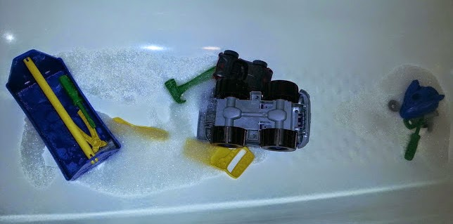 Toys in the bath