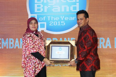 Indosat Dompetku Raih Infobank Digital Brand of The Year 2015