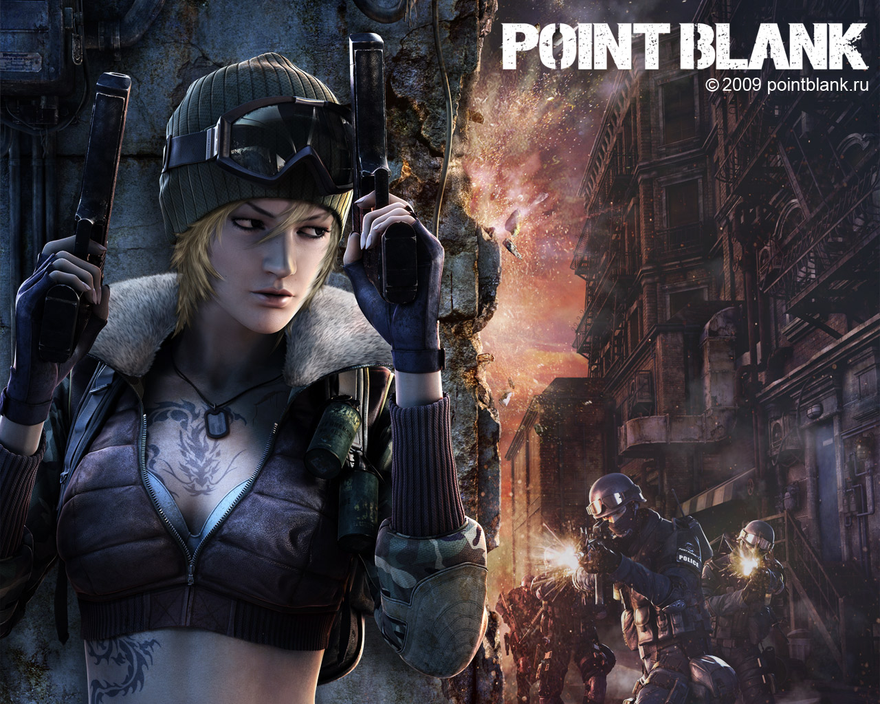 Wallpapers Point Blank