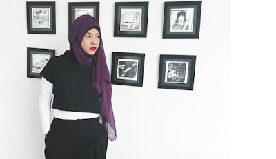 Hijab Glamor Natasha Rizki