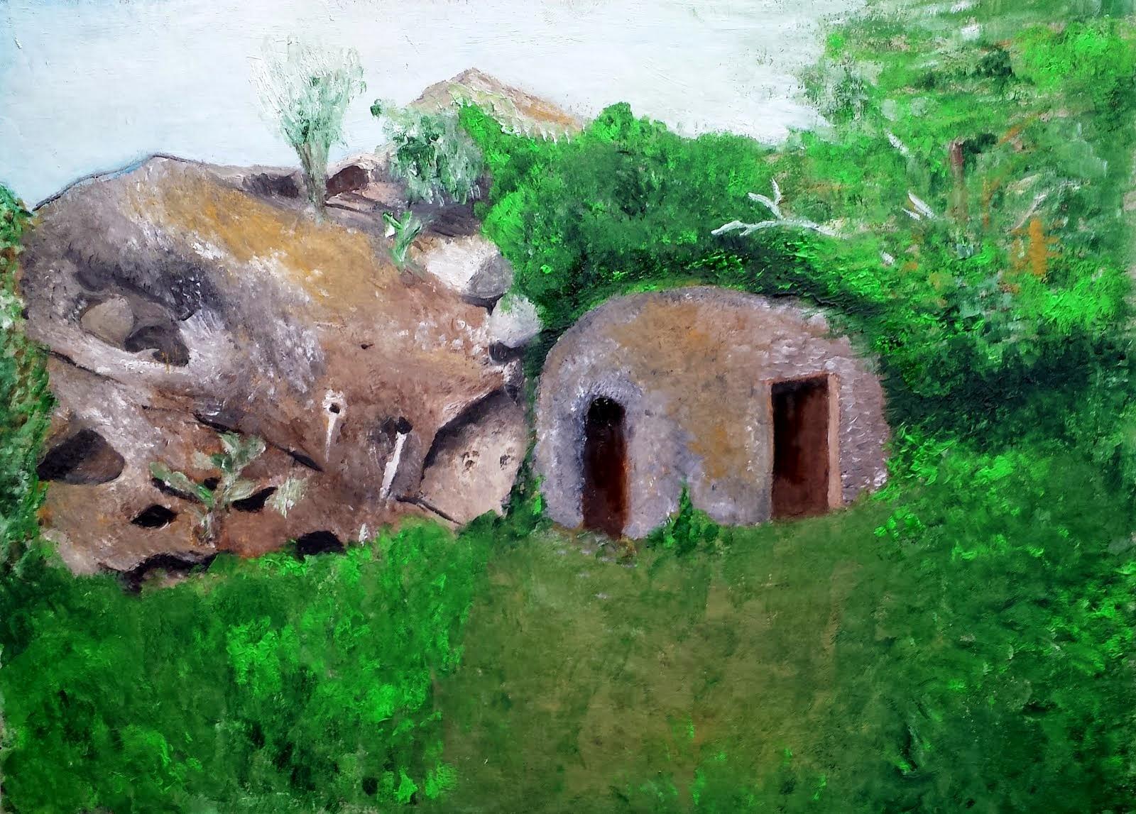 La grotta di SAN FLORIO (S.Gròlio)