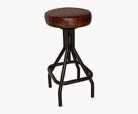 Industrialny taboret, idustrialny stołek,