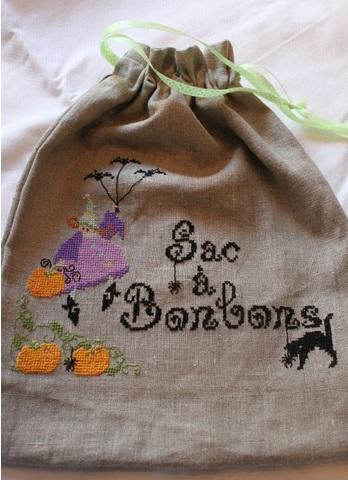 Frees de saison ou pas brin de fil - Comment fabriquer un sac a bonbon pour halloween ...