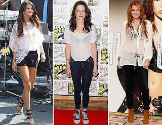 famosas con blusas transparentes