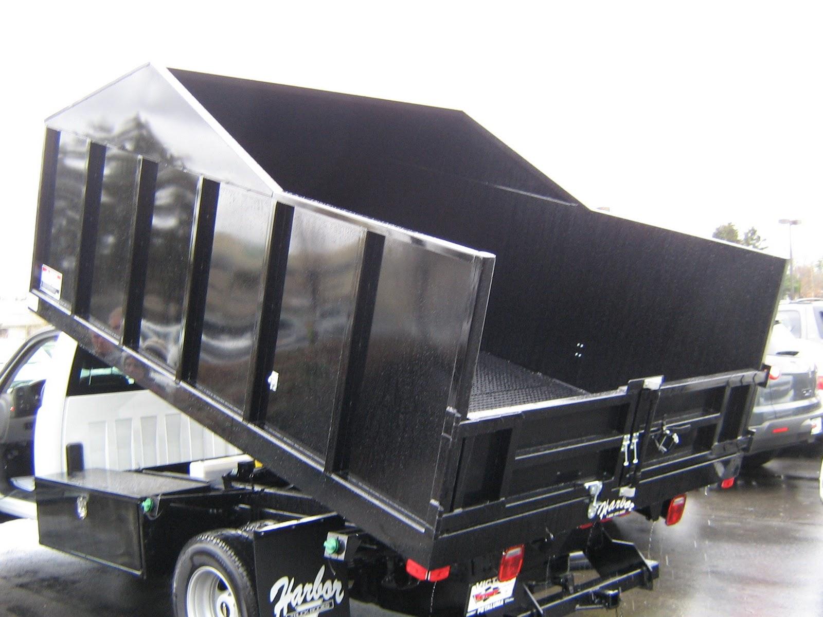 1 Ton Chipper Box Body : Commercial truck success an aerodynamic lightweight
