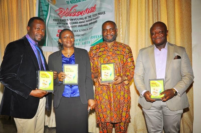 Book presentation of the book who cares about human rights? By Emmanuel Onwubiko.