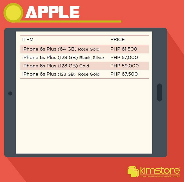 Apple iPhone 6S Kimstore, Apple iPhone 6S Plus Kimstore
