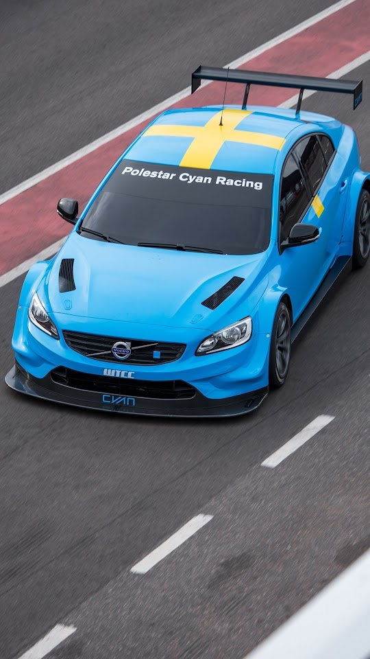 Volvo S60 Polestar TC1 2016 Galaxy Note HD Wallpaper
