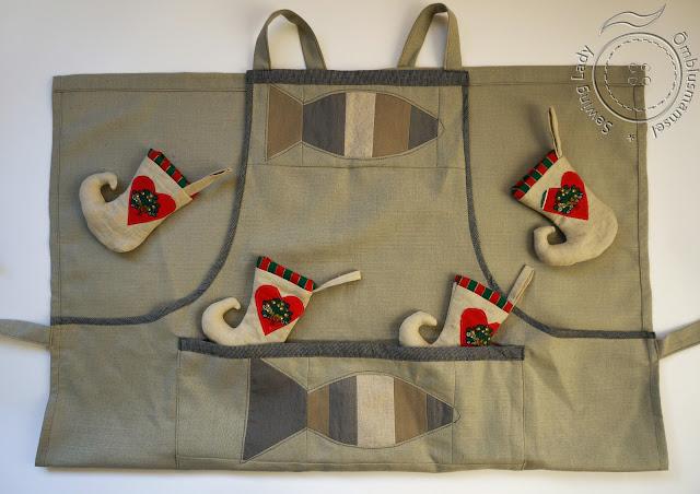 patchwork apron