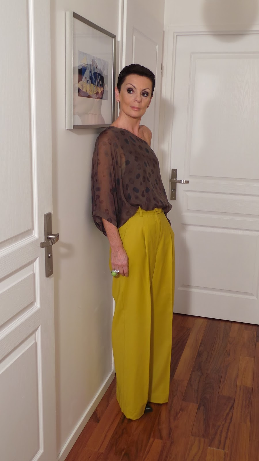moduxe article sp cial lookbook pantalon couleur moutarde. Black Bedroom Furniture Sets. Home Design Ideas