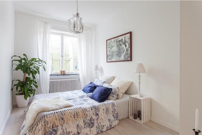 Decoración de interiores estilo rústico chic nórdico