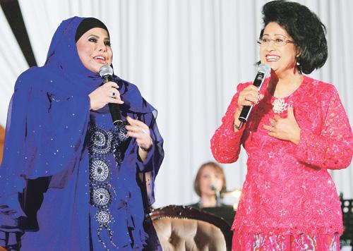 Datuk Sharifah Aini Serik Kena Tipu Pihak Penganjur