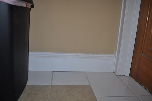 painting, baseboards, trim,caulk