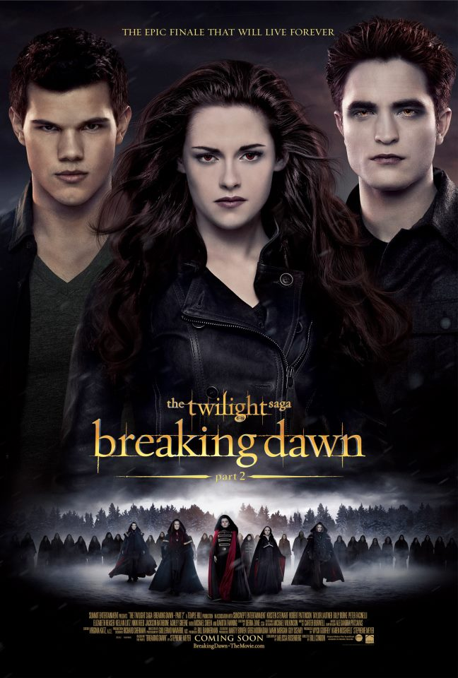 The Twilight Saga Breaking Dawn - Hừng Đông Part 2, The Twilight Saga Breaking Dawn - Hừng Đông Part 2