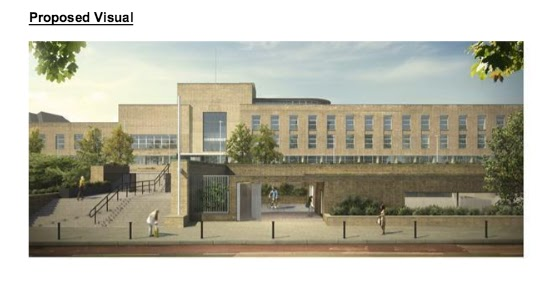Officers Recommend Approval For Wembley French School Swimming Pool