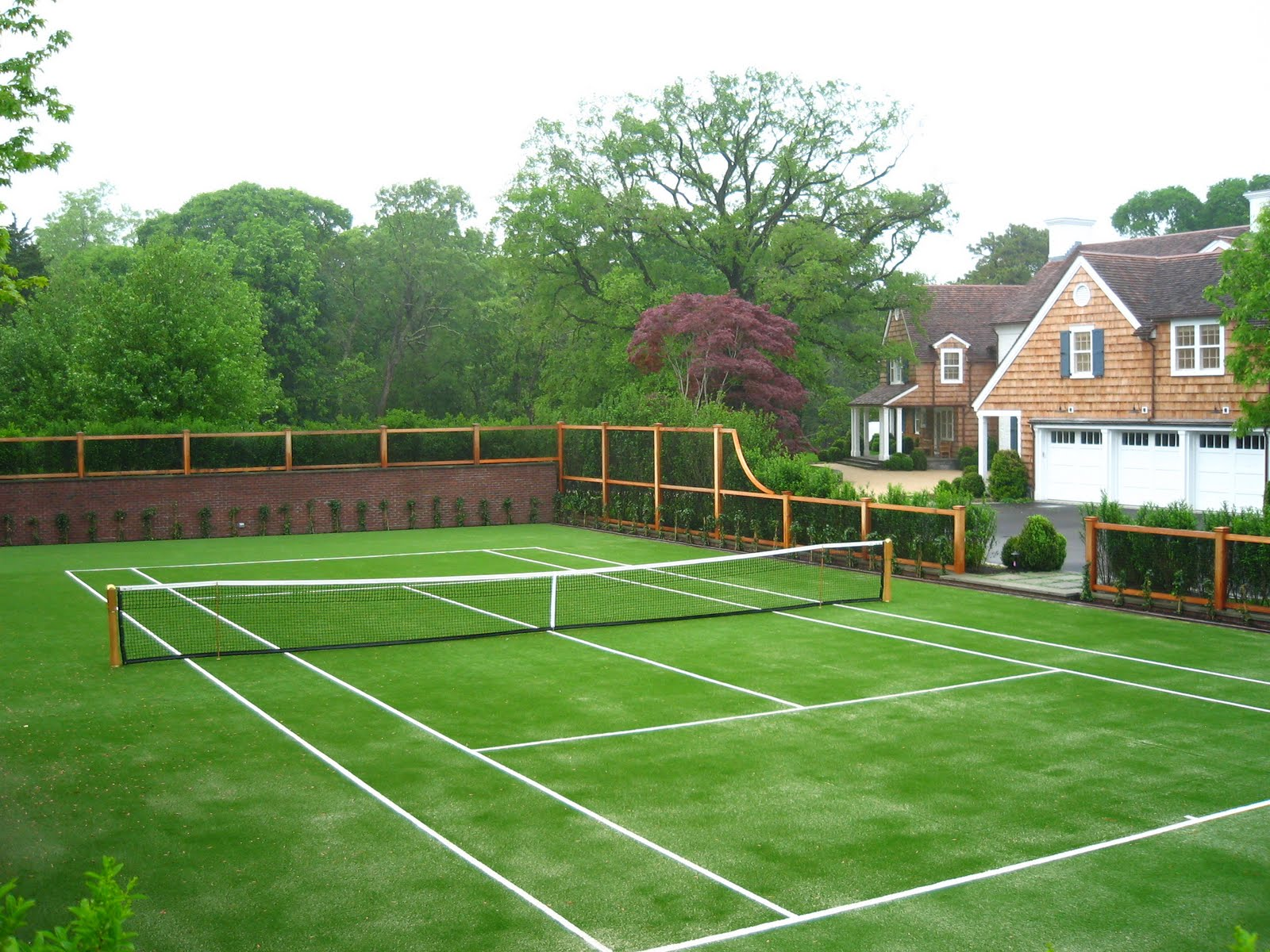 How To Make Tennis Court In Backyard : TENNIS COURTMULTIPURPOSE FIELD