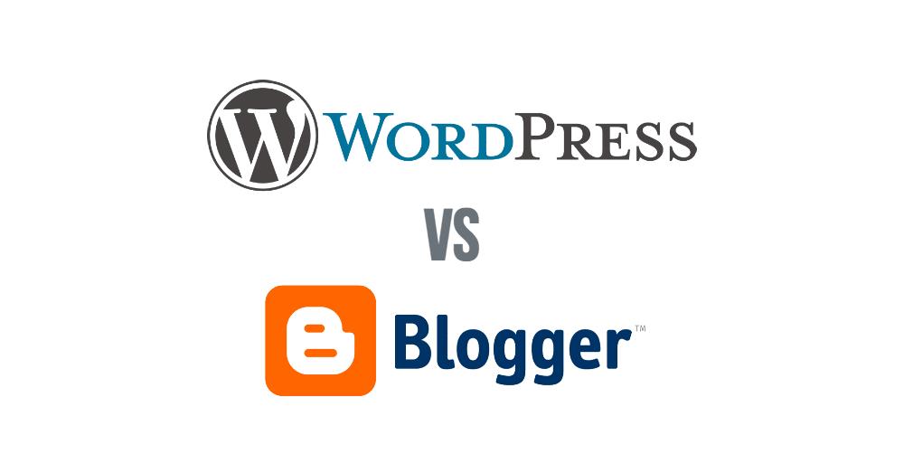 wordpress versus blogger