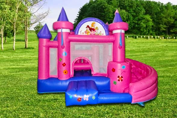 Juego Inflable PINK CASTLE - JUEGO INFLABLE