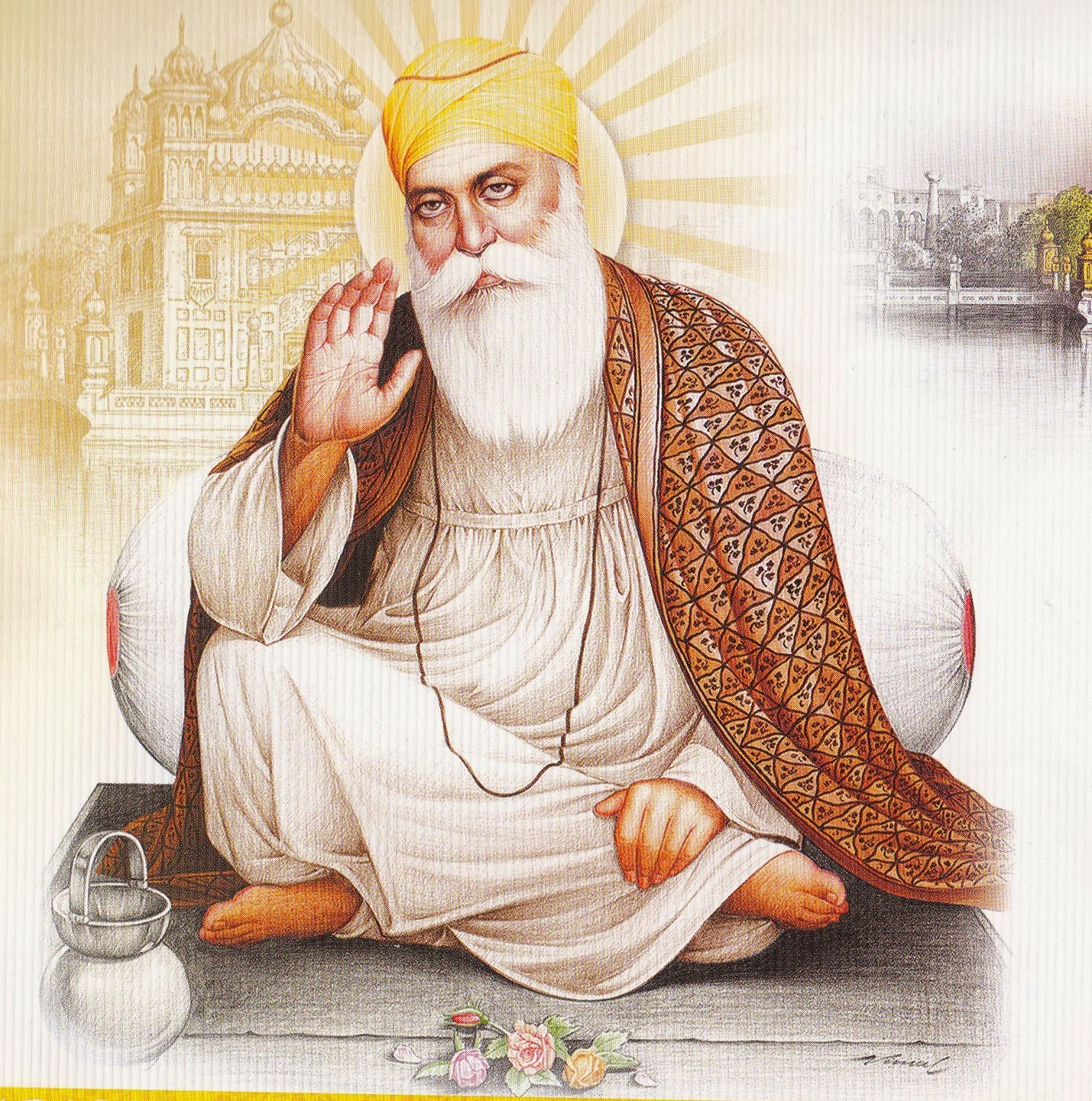 guru nanak dev jis schooling Guru nanak dev ji's father was an accountant in the employment of the local muslim authorities.