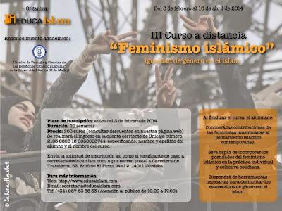 curso a distancia de feminismo islámico