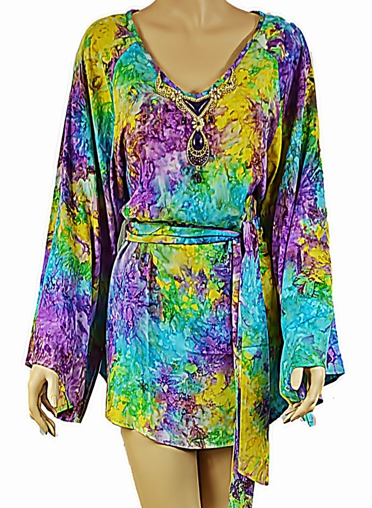 Lotus Resort Wear Kimono