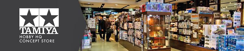 #tamiya hobby headquarters / concept store