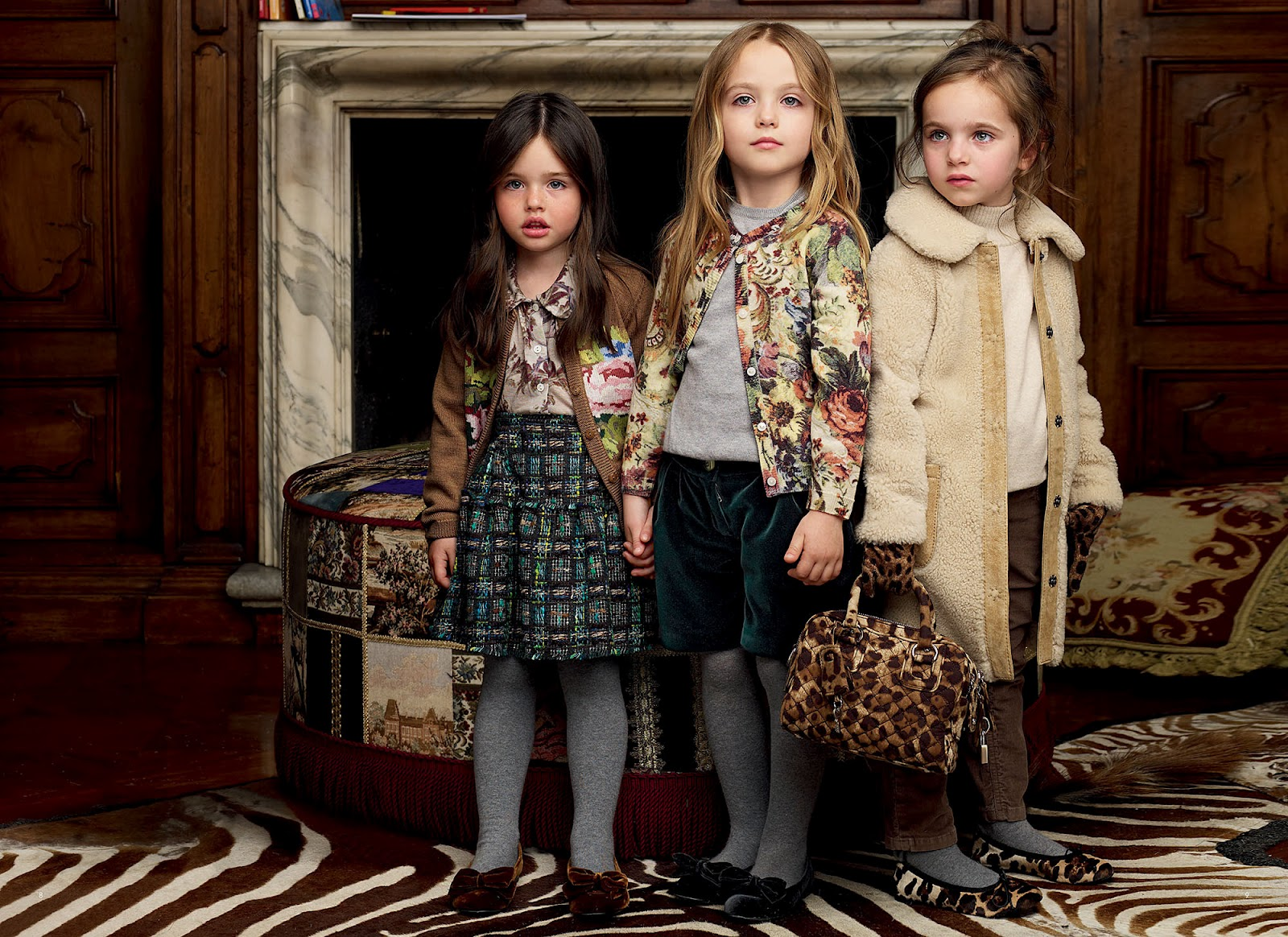 And gabanna s new kids line is the clothes are absolutely adorable