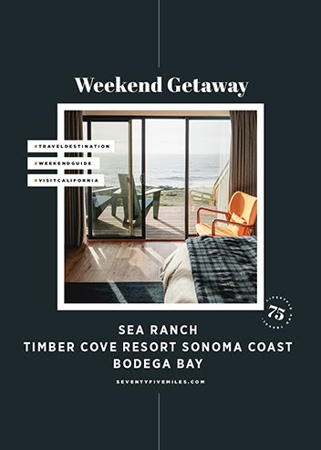 WEEKEND GETAWAY: SEA RANCH - TIMBER COVE - BODEGA BAY