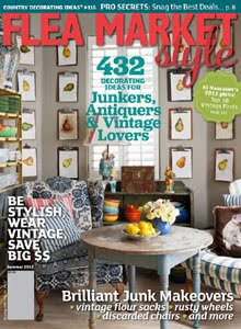 Our Barn Sale is featured in this issue!  Yea!