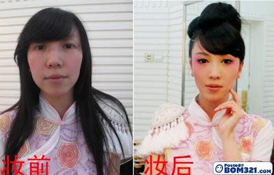 Sebelum Dan Selepas Bersolek