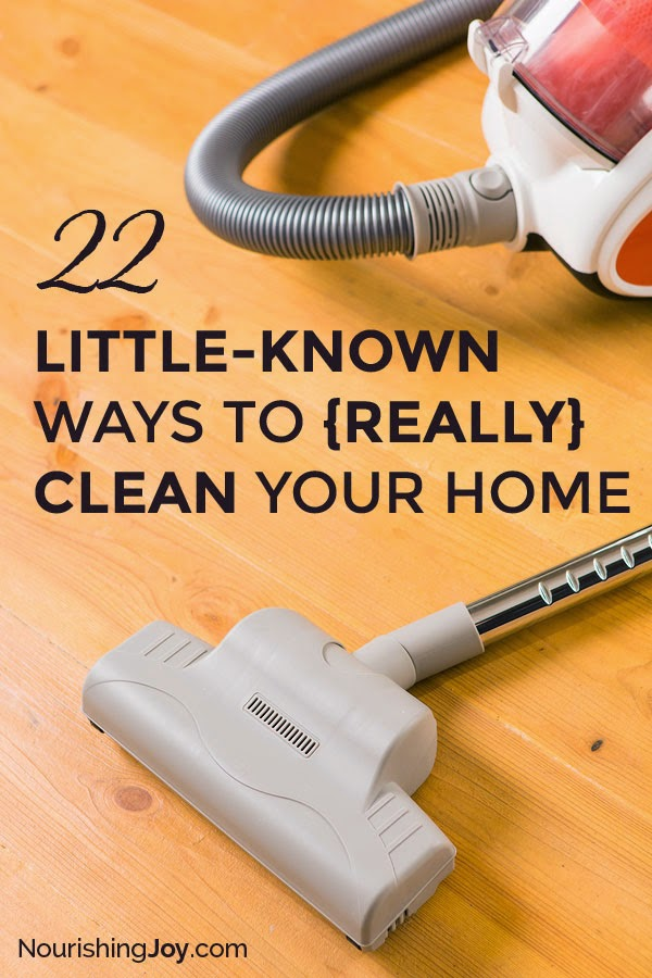 22 Little-Known Tips to Really Clean Your Home