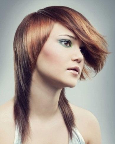Stylish Two Tone Hair Style 2014