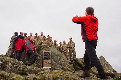 Great Gable FRCC War Memorial Plaque is Re-instated
