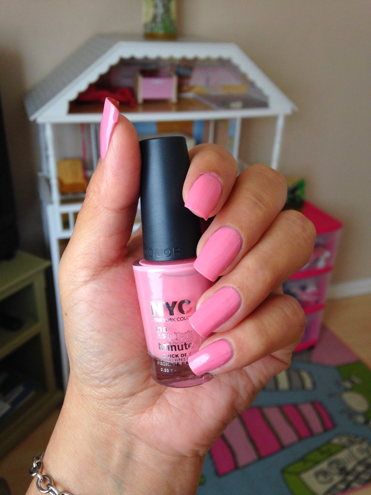 New York Color In A New York Minute Lafayette Pink #Swatches - Sammy ...