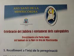 Peregrinació de la delegació diocesana de Catequesi