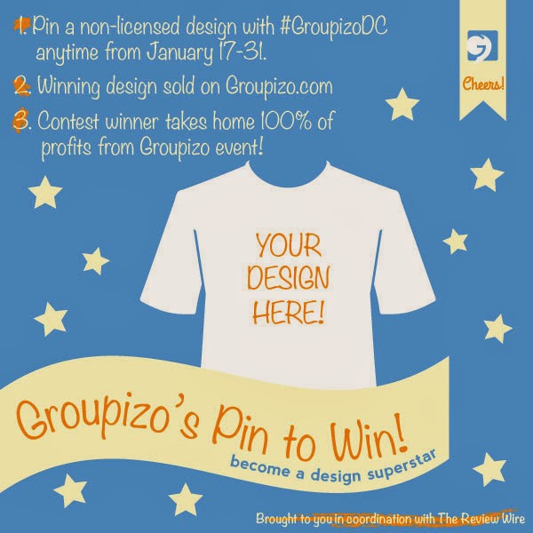 Win Big with Groupizo's Pin to Win Design Contest! Ends 1/31.