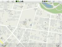Maps(+)の画面表示