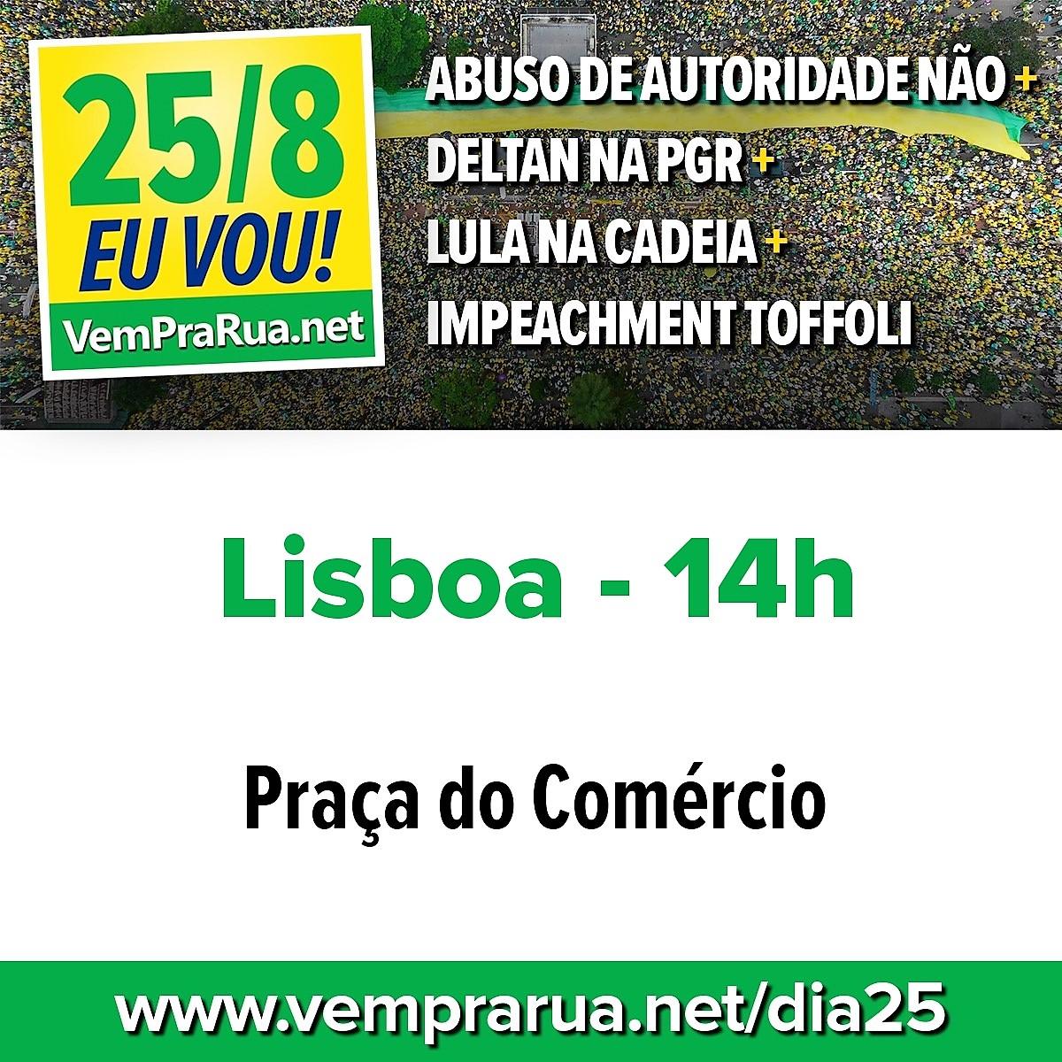 25 de agosto, 14h00: Lisboa
