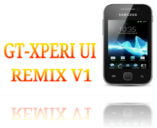 GT-Xperia ui remix v1 Custom Rom for Samsung galaxy y GT-S5360 with update