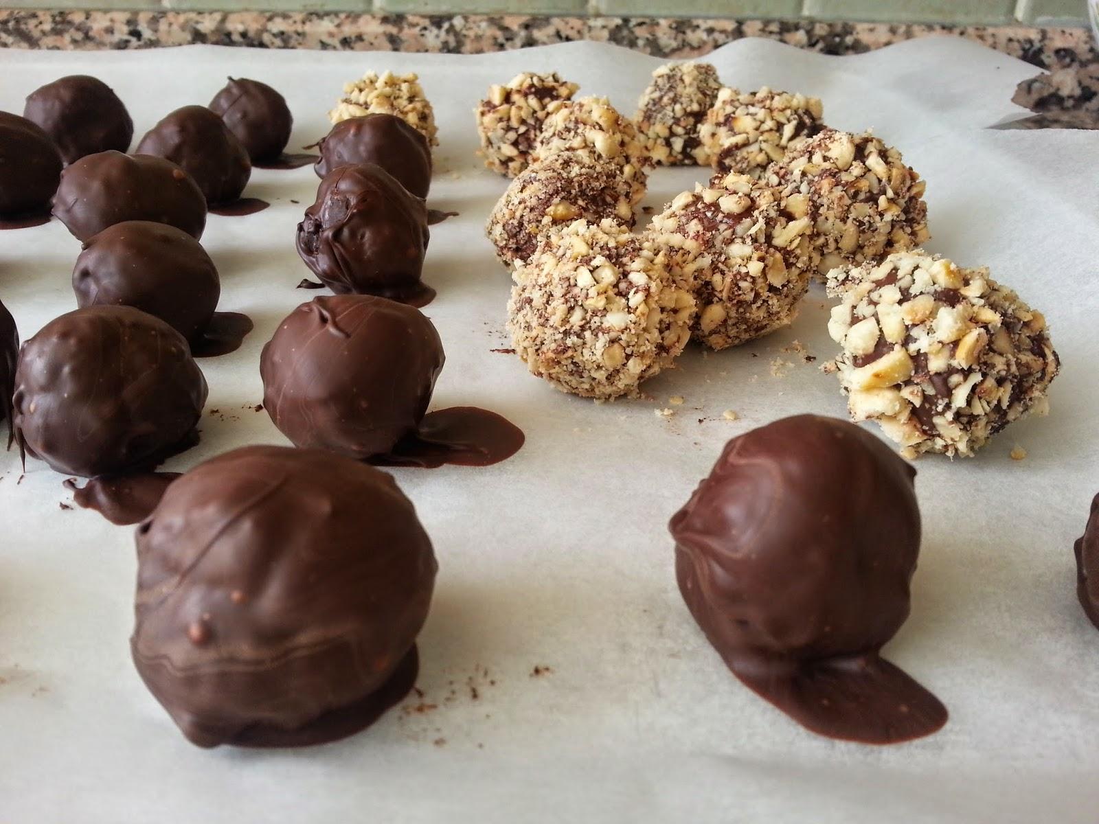 Kakao Kaplı Truf Çikolata Videosu 10