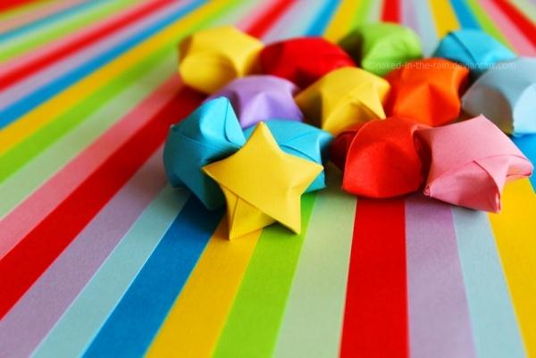 Como hacer estrellitas de papel imagui - Estrellas de papel ...