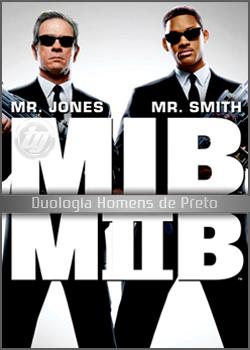 Homens de Preto I e II DVDRip XviD & RMVB Dublado