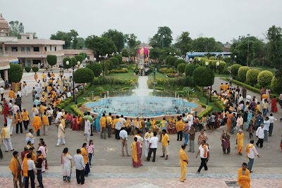 Musical Fountains at Rangeel Mahal ashram, Barsana Dham