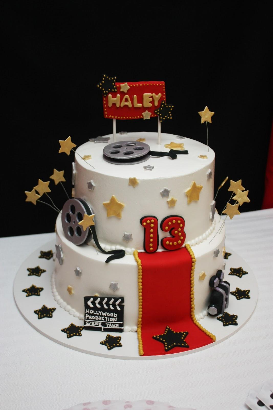 Hollywood Themed Sheet Cakes